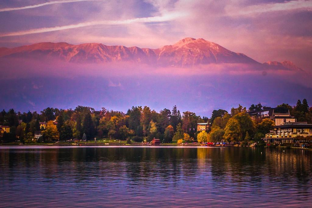 斯洛文尼亚布莱德湖(Lake Bled),迷人景色_图1-11