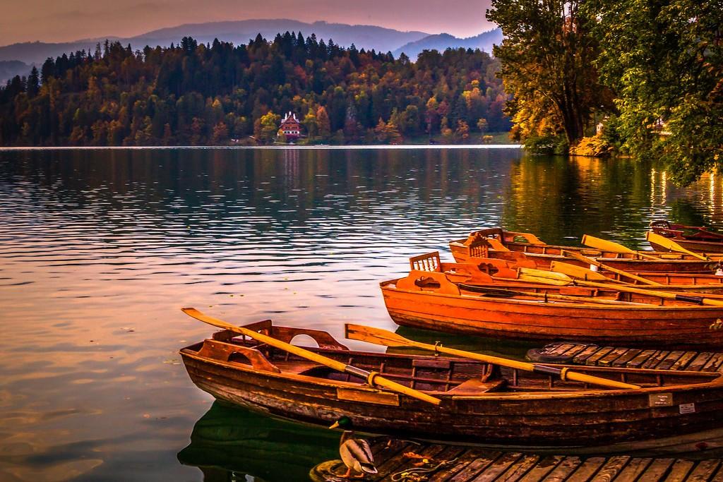 斯洛文尼亚布莱德湖(Lake Bled),迷人景色_图1-12
