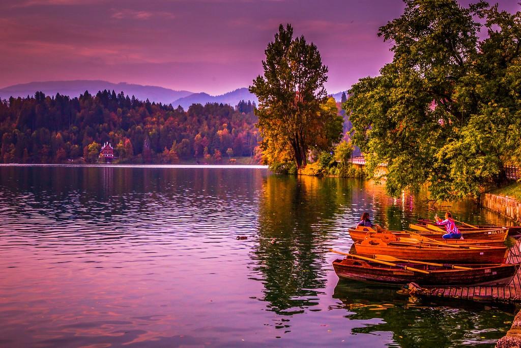 斯洛文尼亚布莱德湖(Lake Bled),迷人景色_图1-5