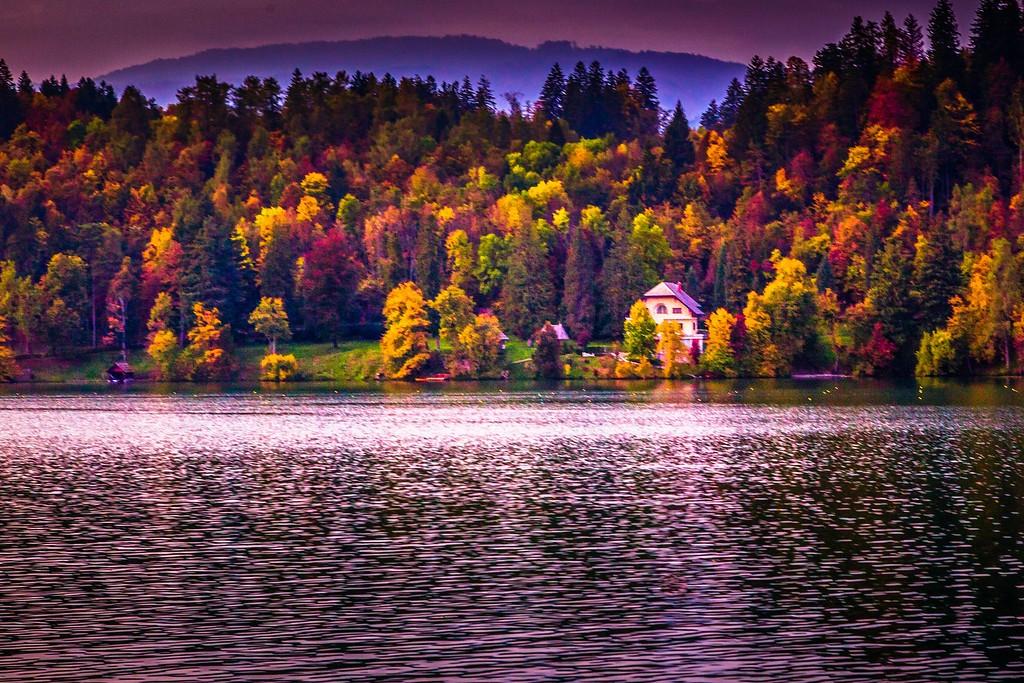 斯洛文尼亚布莱德湖(Lake Bled),迷人景色_图1-6