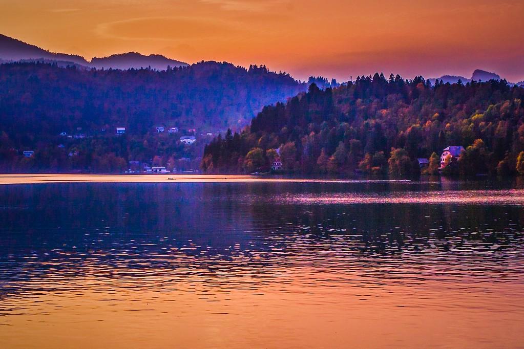 斯洛文尼亚布莱德湖(Lake Bled),迷人景色_图1-15