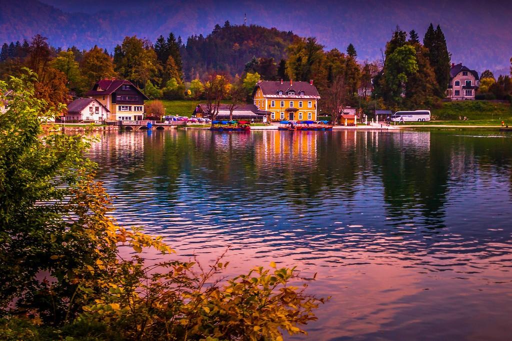 斯洛文尼亚布莱德湖(Lake Bled),迷人景色_图1-14