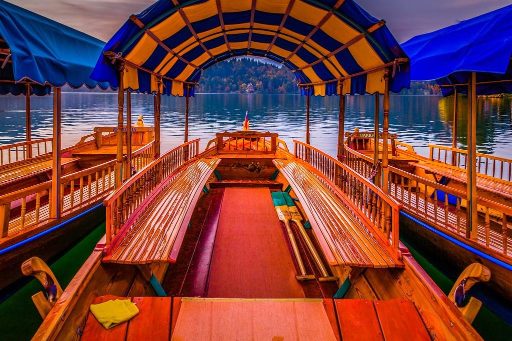 斯洛文尼亚布莱德湖(Lake Bled),迷人景色_图1-18