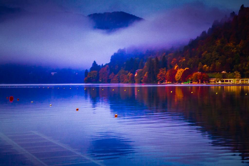 斯洛文尼亚布莱德湖(Lake Bled),迷人景色_图1-16