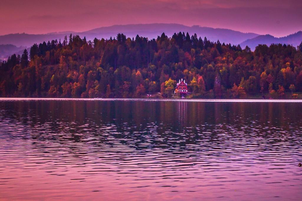 斯洛文尼亚布莱德湖(Lake Bled),迷人景色_图1-17