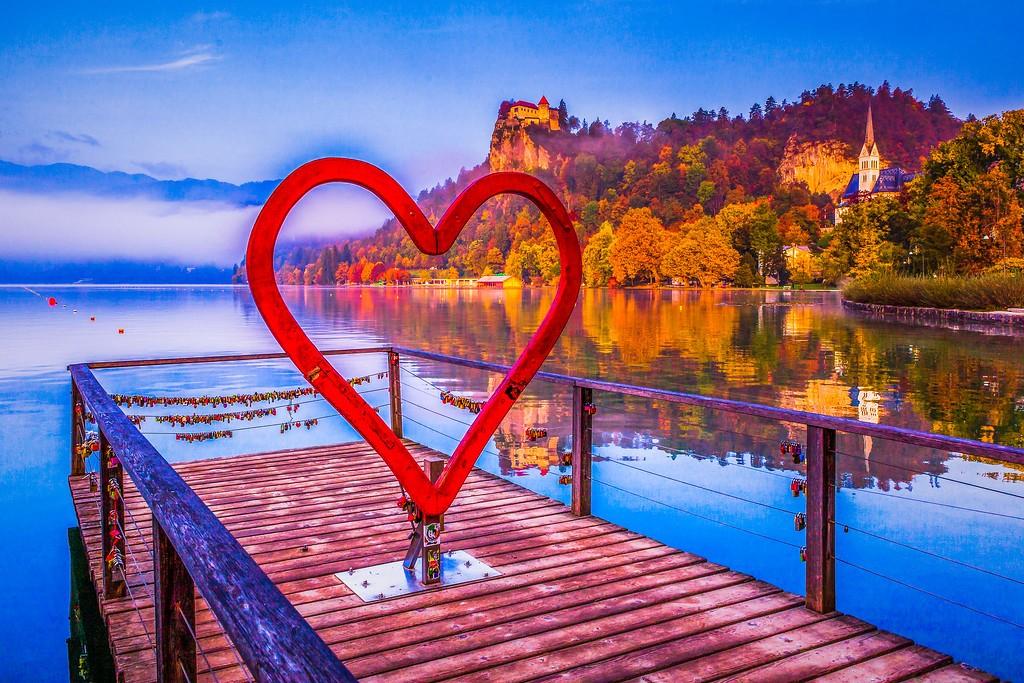 斯洛文尼亚布莱德湖(Lake Bled),迷人景色_图1-19