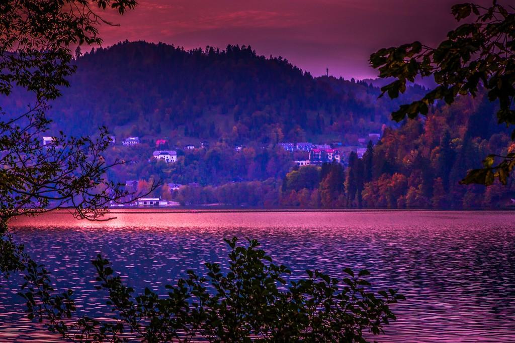 斯洛文尼亚布莱德湖(Lake Bled),迷人景色_图1-20
