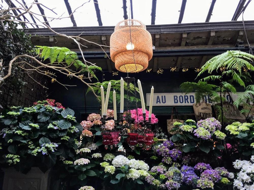 在巴黎见到的卖花市集_图1-3