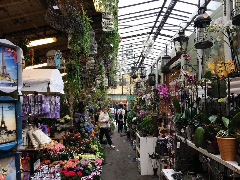 在巴黎见到的卖花市集_图1-5