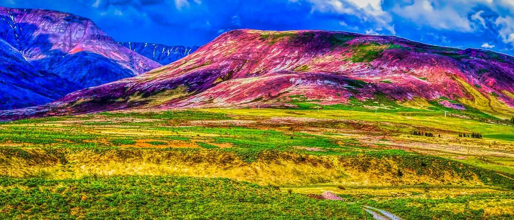 冰岛风采,山脉起伏_图1-38