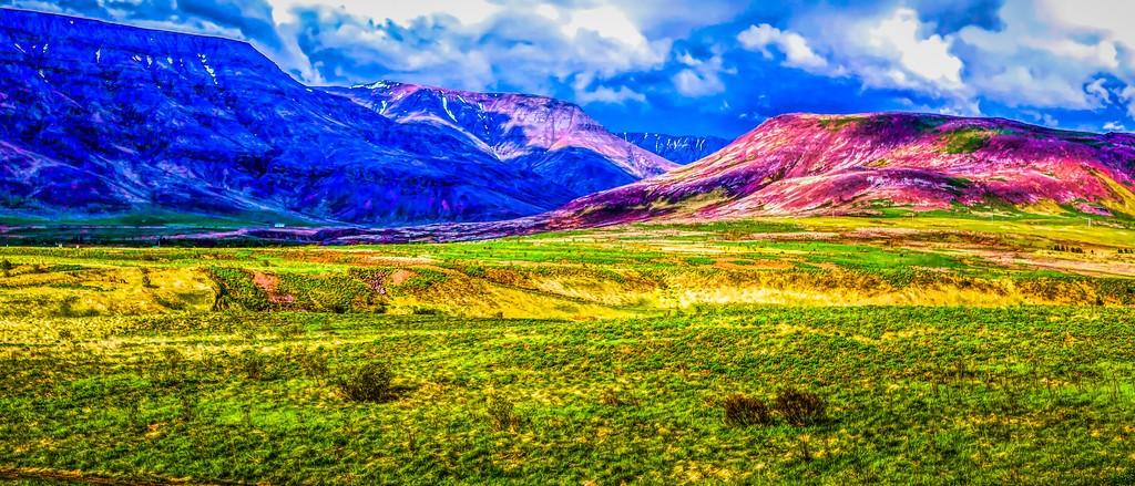 冰岛风采,山脉起伏_图1-39