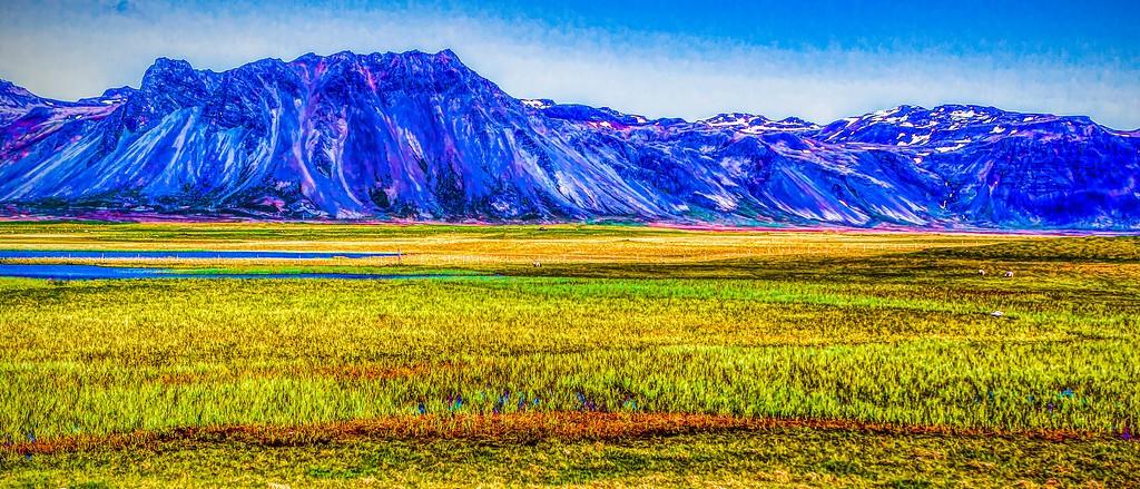 冰岛风采,山脉起伏_图1-36