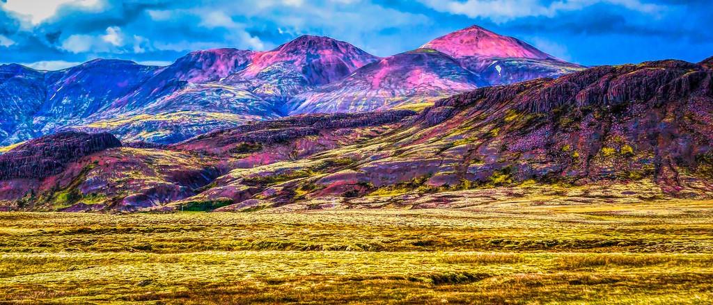 冰岛风采,山脉起伏_图1-35