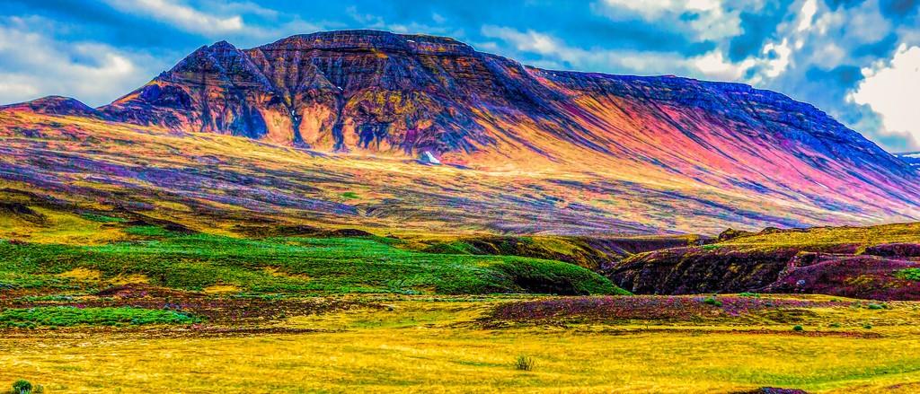 冰岛风采,山脉起伏_图1-33