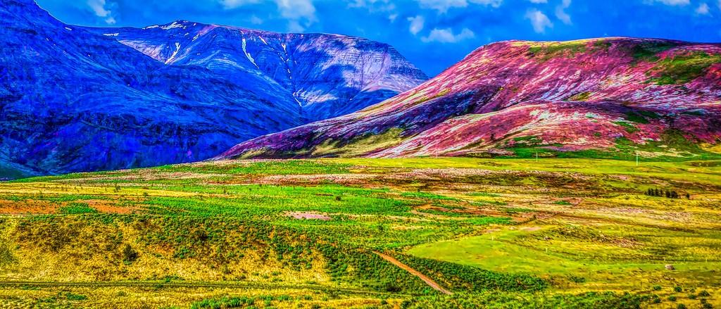 冰岛风采,山脉起伏_图1-29