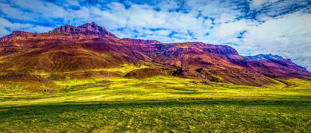 冰岛风采,山脉起伏_图1-34