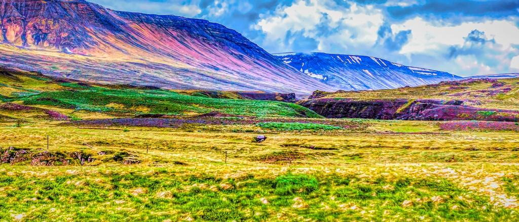 冰岛风采,山脉起伏_图1-31