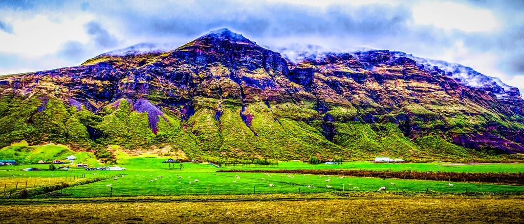 冰岛风采,山脉起伏_图1-26