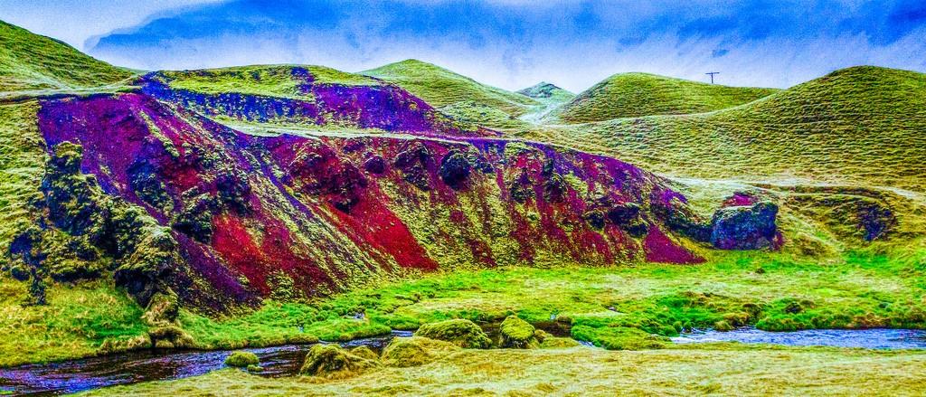 冰岛风采,山脉起伏_图1-23