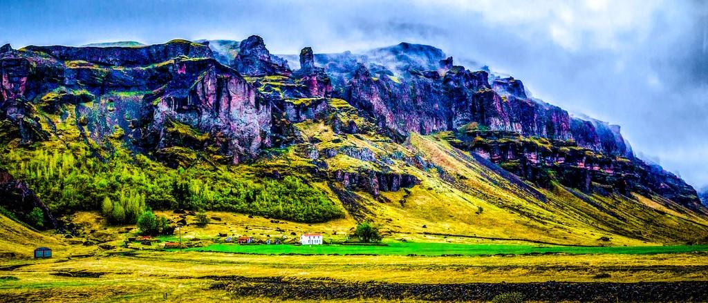 冰岛风采,山脉起伏_图1-1