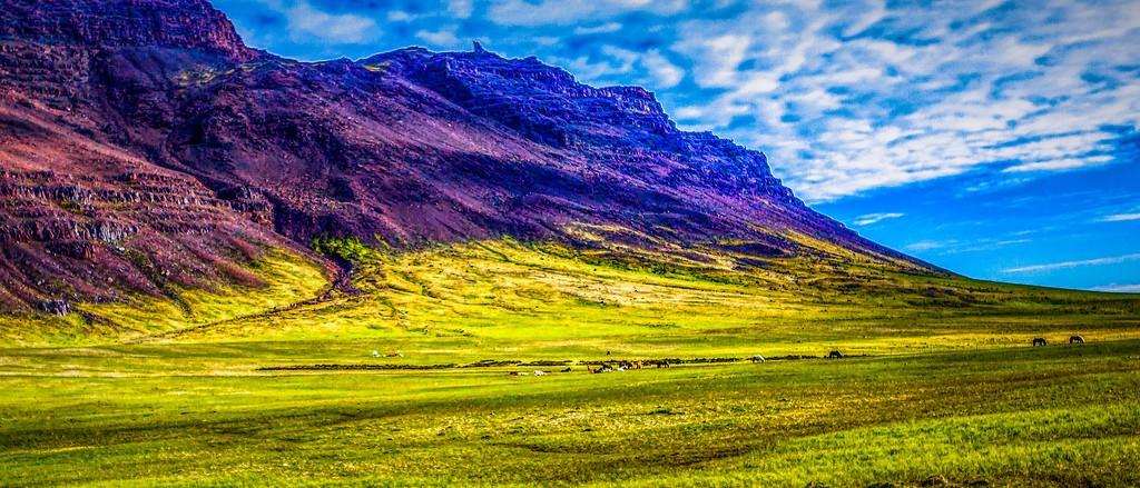 冰岛风采,山脉起伏_图1-2