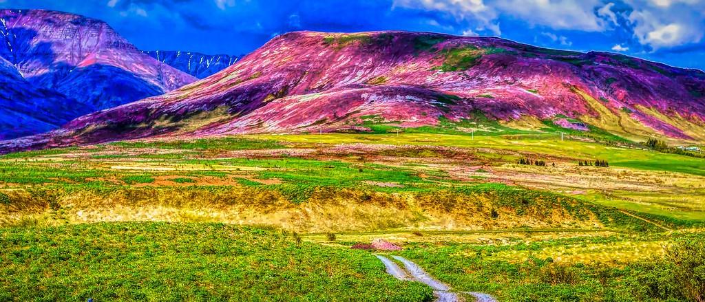 冰岛风采,山脉起伏_图1-3