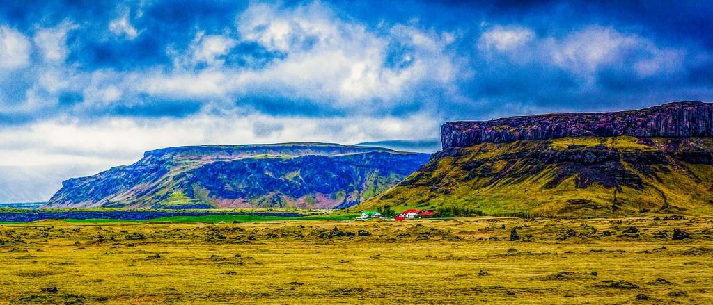 冰岛风采,山脉起伏_图1-4
