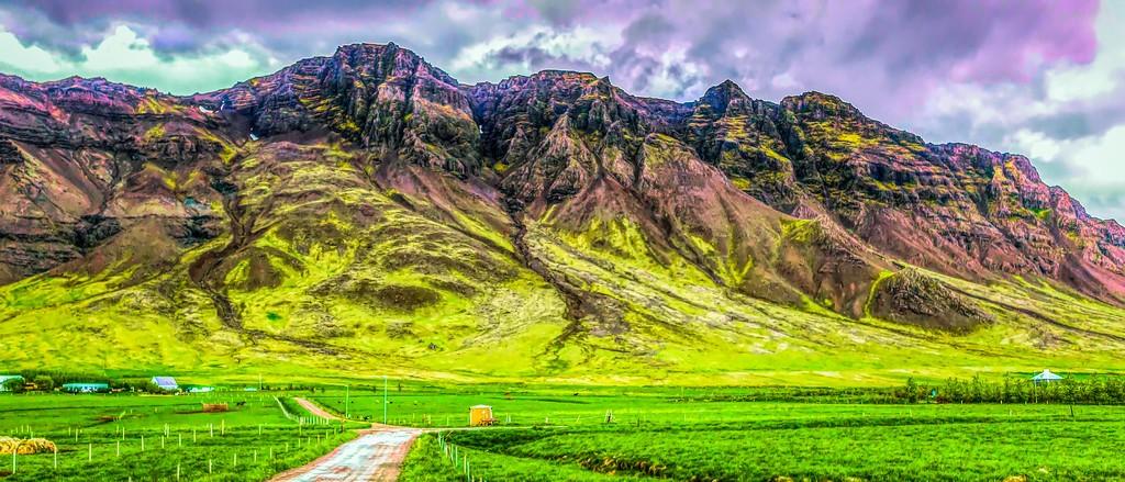 冰岛风采,山脉起伏_图1-8