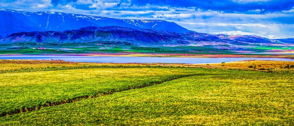 冰岛风采,山脉起伏_图1-5