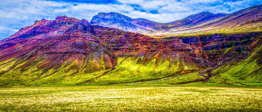 冰岛风采,山脉起伏_图1-9