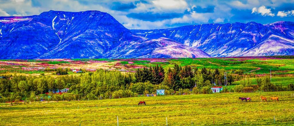 冰岛风采,山脉起伏_图1-10