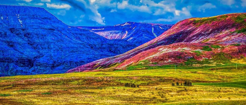 冰岛风采,山脉起伏_图1-16