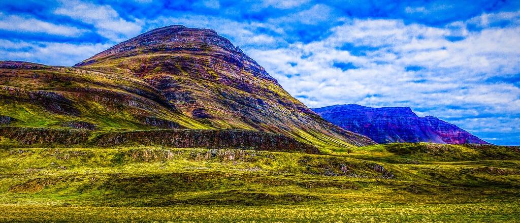 冰岛风采,山脉起伏_图1-15