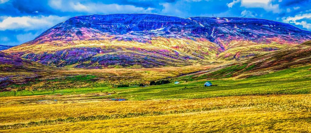 冰岛风采,山脉起伏_图1-14