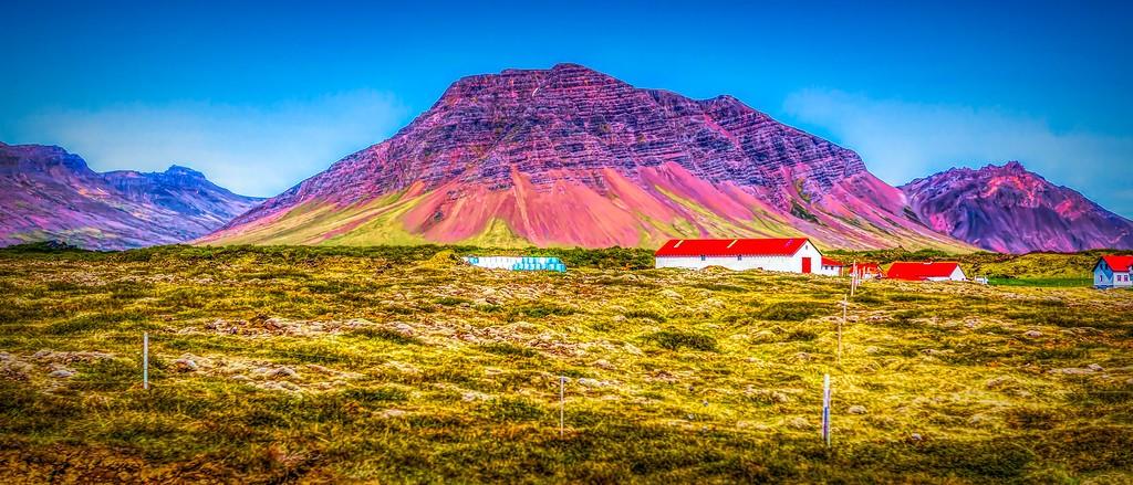 冰岛风采,山脉起伏_图1-17