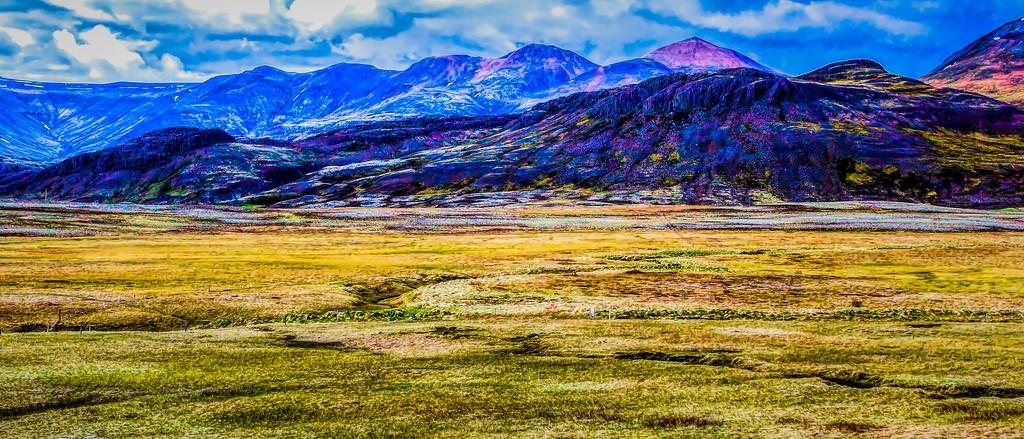 冰岛风采,山脉起伏_图1-19