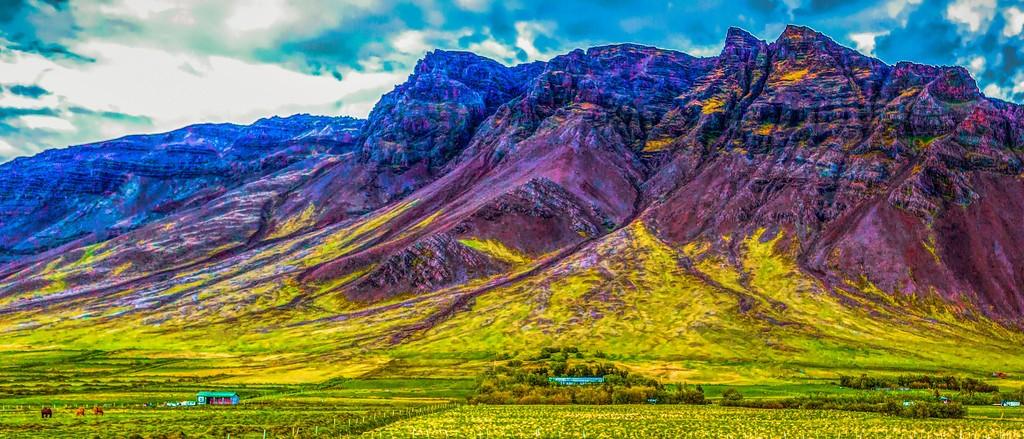 冰岛风采,山脉起伏_图1-20