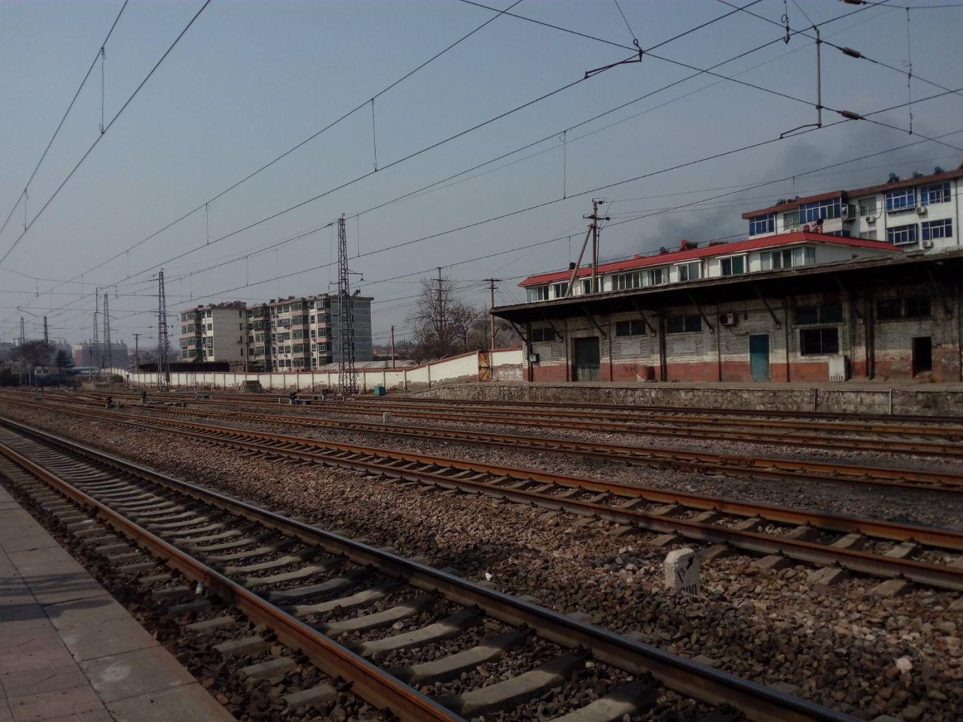 看到民国时期石太铁路列车时刻表有感而发_图1-3