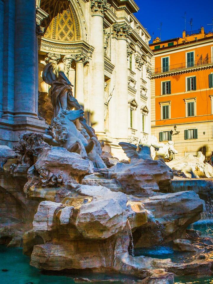 罗马特雷维喷泉(Trevi Fountain),闻名遐迩_图1-17