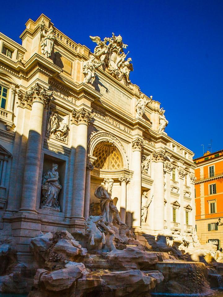 罗马特雷维喷泉(Trevi Fountain),闻名遐迩_图1-14