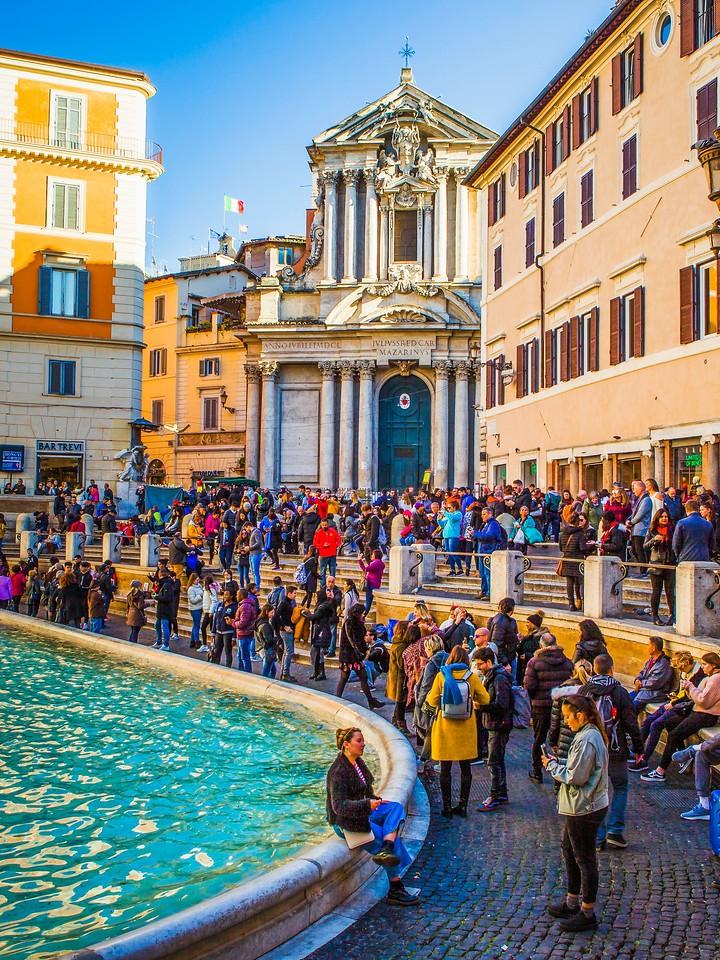罗马特雷维喷泉(Trevi Fountain),闻名遐迩_图1-8