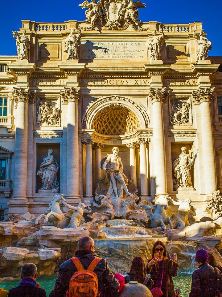 罗马特雷维喷泉(Trevi Fountain),闻名遐迩_图1-6