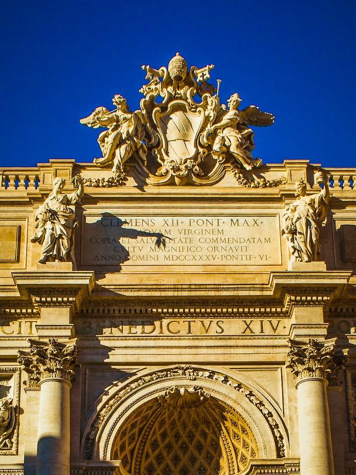 罗马特雷维喷泉(Trevi Fountain),闻名遐迩_图1-2