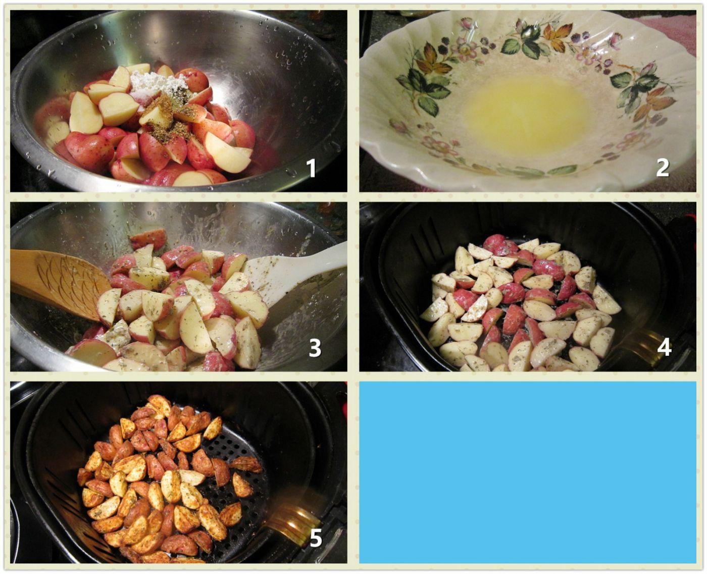 香草烤小土豆_图1-2