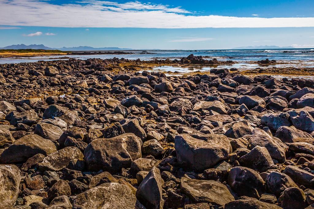 冰岛风采,礁石海水还有雪山_图1-23