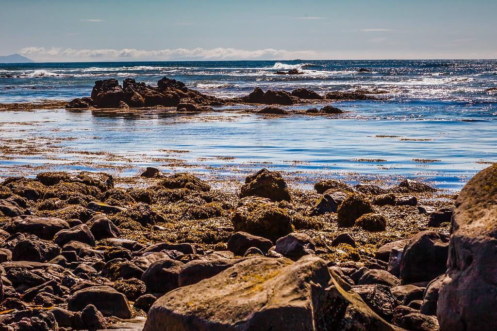 冰岛风采,礁石海水还有雪山_图1-13