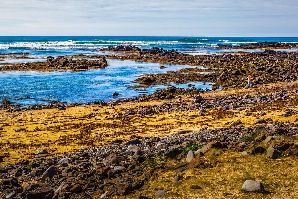 冰岛风采,礁石海水还有雪山_图1-10