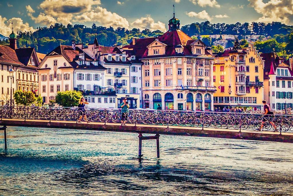 瑞士卢塞恩(Lucerne),漂亮小城_图1-25