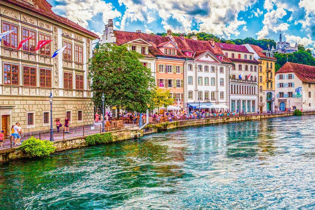 瑞士卢塞恩(Lucerne),漂亮小城_图1-32