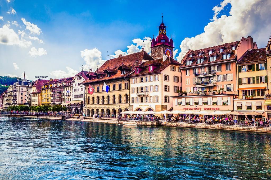 瑞士卢塞恩(Lucerne),漂亮小城_图1-27